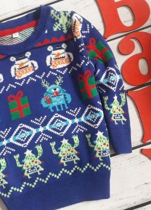 Новогодний свитер джемпер кофта. 1/2 года