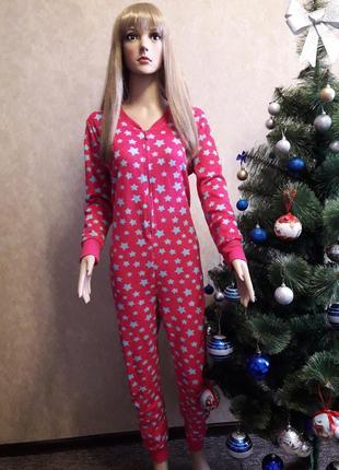 Тёплая пижама кигуруми слип комбинезон