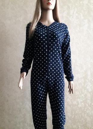 Кигуруми пижама комбинезон слип в звезды