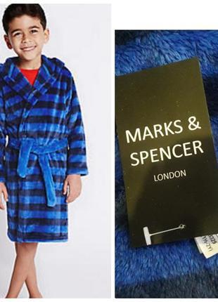 Махровый детский халат. marks spencer. 1/2 года