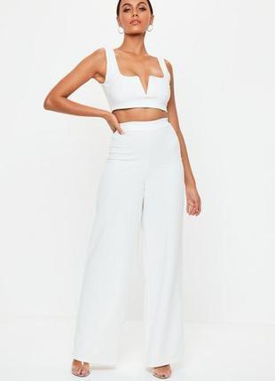 Лёгкие белые брюки
