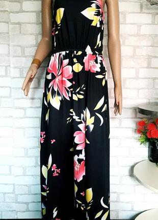 Длинный сарафан. платье открытые плечи цветочный принт