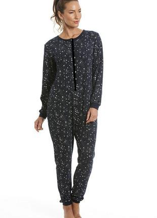 Пижама трикотажная. кигуруми принт 🌟. спальный комбинезон