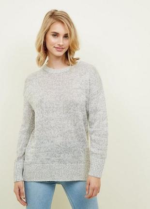 Вязаный свитер оверсайз ❤️new look❤️ шерстяной свитер
