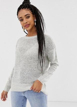 Шерстяной свитер оверсайз. вязаный свитер new look