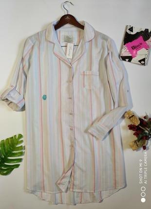 Хлопковая ночная рубашка. ночнушка love to lounge