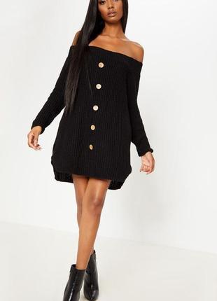 Платье свитер открытые плечи. вязаное платье от prettylittleth...