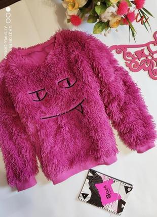 Пушистый свитер травка. джемпер пушистый оверсайз