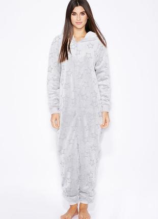 Кигуруми тёплое. комбинезон слип. махровая пижама
