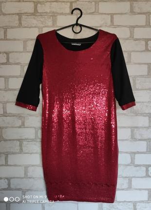 Платье в пайетках. нарядное платье