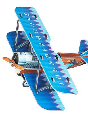 Самолетик синий. Сборная модель