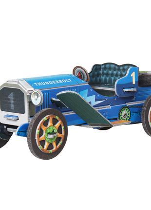 Машинка синяя. Сборная модель