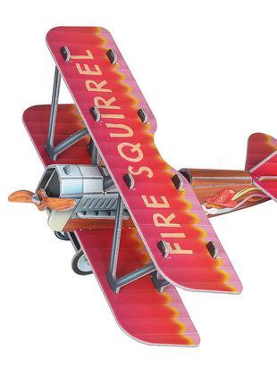 Самолетик красный. Сборная модель