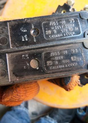 Автоматические выключатели А 63.