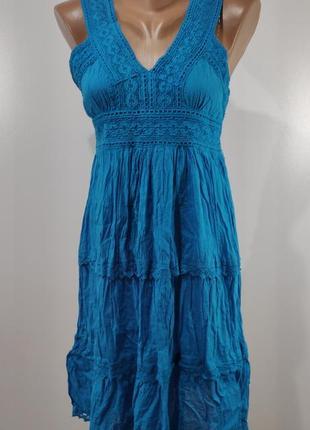 Летнее платье размер 38