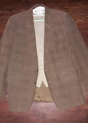 Пиджак с жилеткой
