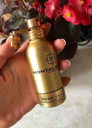 Montale rose tea  50 мл монталь