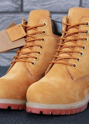 Ботинки женские зимние с мехом timberland, тимберленд, жіночі ...