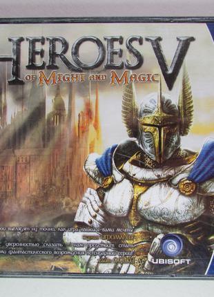 "Heroes of Might and Magic V PC CD-ROM лицензия ""1С"" БУ"
