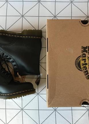 Ботинки dr. martens 1460 black smooth us10, eu43