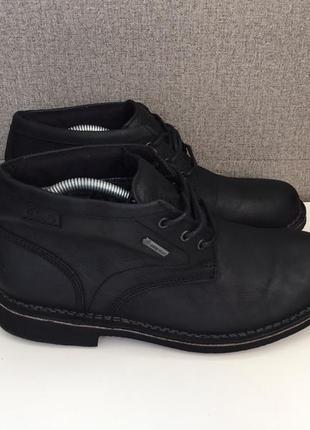 Чоловічі черевики clarks gore-tex мужские ботинки сапоги