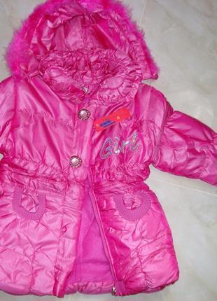 Красивое пальто на девочку Весна