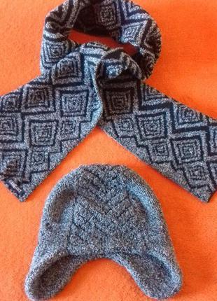 Комплект шапочка и шарф gregory