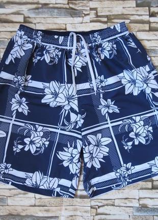Мужские пляжные шорты размер 48-50