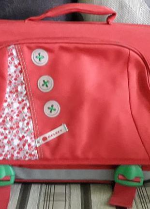 Школьный портфель  рюкзак delsey