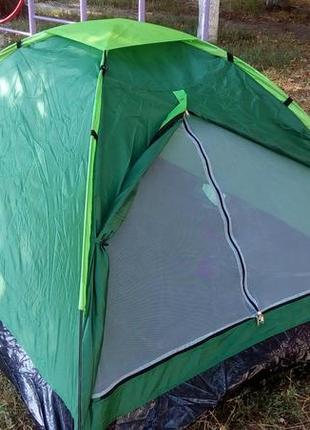 Палатка летняя туристическая походная двухместная 2.05х1.5х1.05см