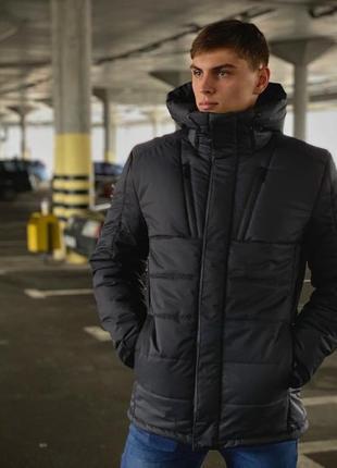Куртка мужская зимняя серая everest intruder