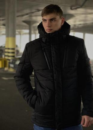 Куртка мужская зимняя черная everest intruder