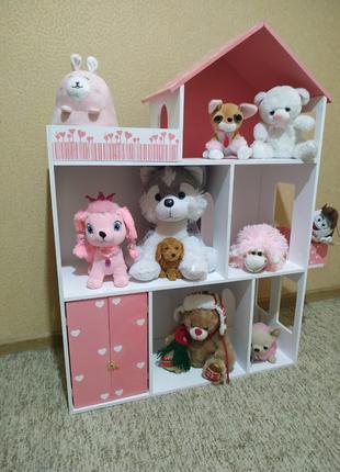 Детский кукольный домик. Детская мебель. Домики lol, monster high