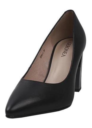 Туфли лодочки  geronea натуральная кожа, весна 2020