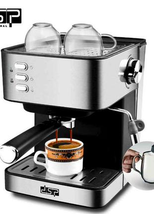 Кофеварка эспрессо рожковая DSP Espresso Coffee Maker KA3028 к...