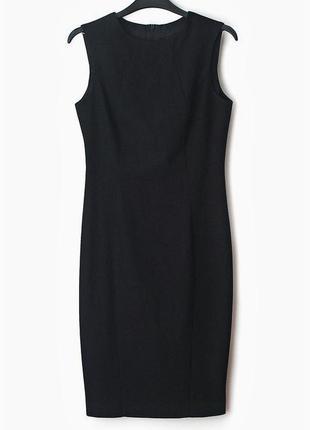 №20 новое классическое базовое платье по фигуре до колен от to...