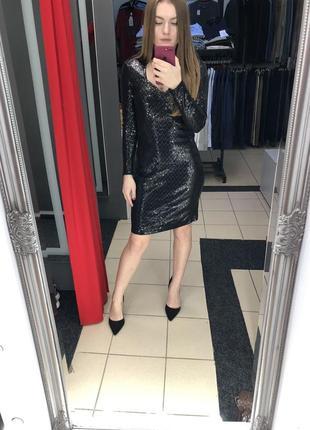 Эффектное платье в паетках итальянского бренда rinascimento (92)