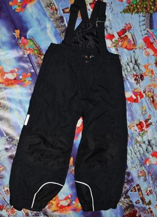 Icepeak теплые зимние термо штаны-полукомбинезон 104см на маль...