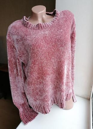 Плюшевый свитер primark (к077)