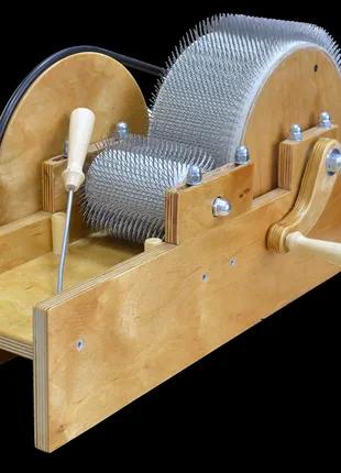 Кардер барабанный для обработки шерсти