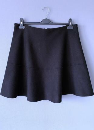 Класная трикотажная юбка primark 18-20--54-56 размер.