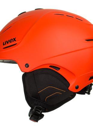 Шолом гірськолижний Uvex L-XL Orange