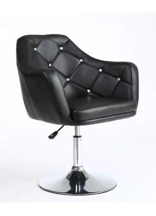 Салонное кресло парикмахера НС 830 черное