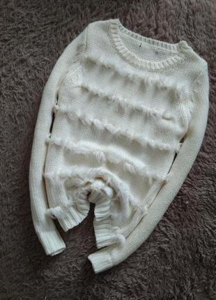 Шикарний,теплий свитер от george.