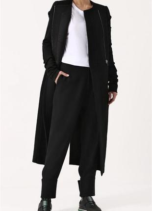 Чёрные женские свободные штаны m&s