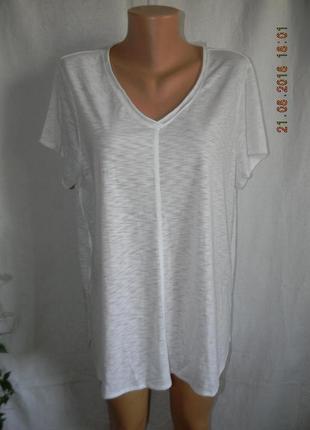 Белая блуза -футболка papaya