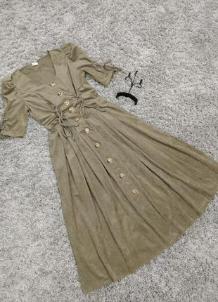 Шикарное платье в стиле casual винтаж