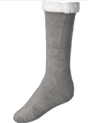 Теплые носки, тапки на меху esmara 39-42