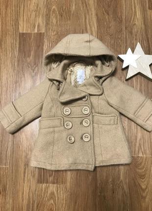 Пальто с капюшоном куртка
