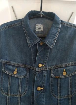 Куртка Lee джинсовая мужская levis carhartt